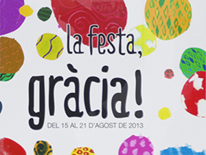 FINALISTA CARTEL «FESTA MAJOR DE GRACIA»
